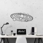 Галактика: панно из металла на стену