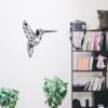 Колибри: декор из металла на стену