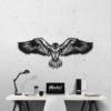 Орел: декоративное панно из металла
