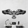 Орел: настенное украшение из металла на стену