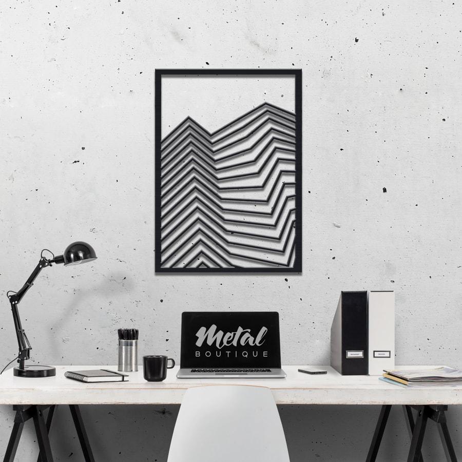 Урбан: фигура из металла на стену