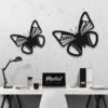 Бабочка Bogota: декор из металла на стену