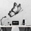 Бабочка Santiago: настенная декорация из металла