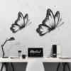Бабочка Santiago: настенный декор из металла