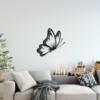 Бабочка Santiago: панно из металла на стену