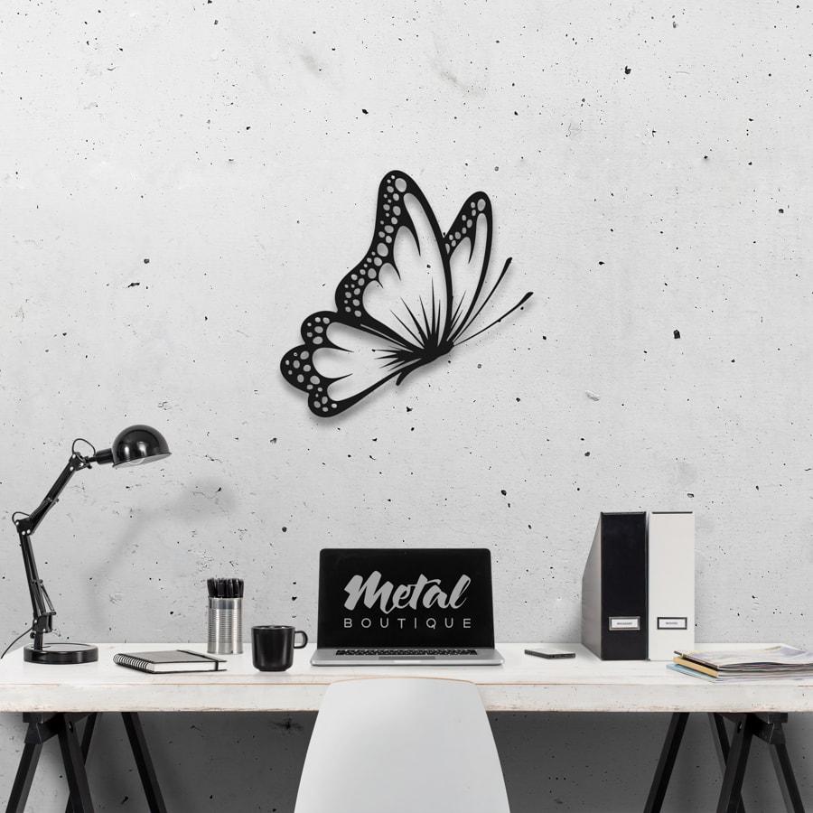 Бабочка Santiago: настенное украшение из металла