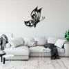 Бабочка Cartagena: металлическое панно на стену