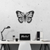 Бабочка Lima: металлическое панно на стену