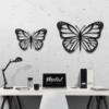 Бабочка Lima: декор из металла на стену