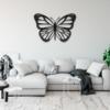 Бабочка Lima: настенное украшение из металла на стену