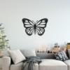 Бабочка Lima: панно из металла на стену