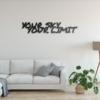 Your sky — Your limit: панно с надписью на стену