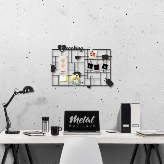 Мудборд Cooking: настенный из металла