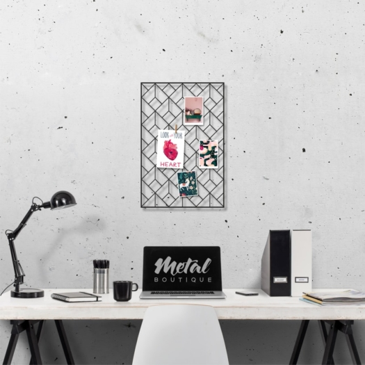 Мудборд Diamond: металлический на стену