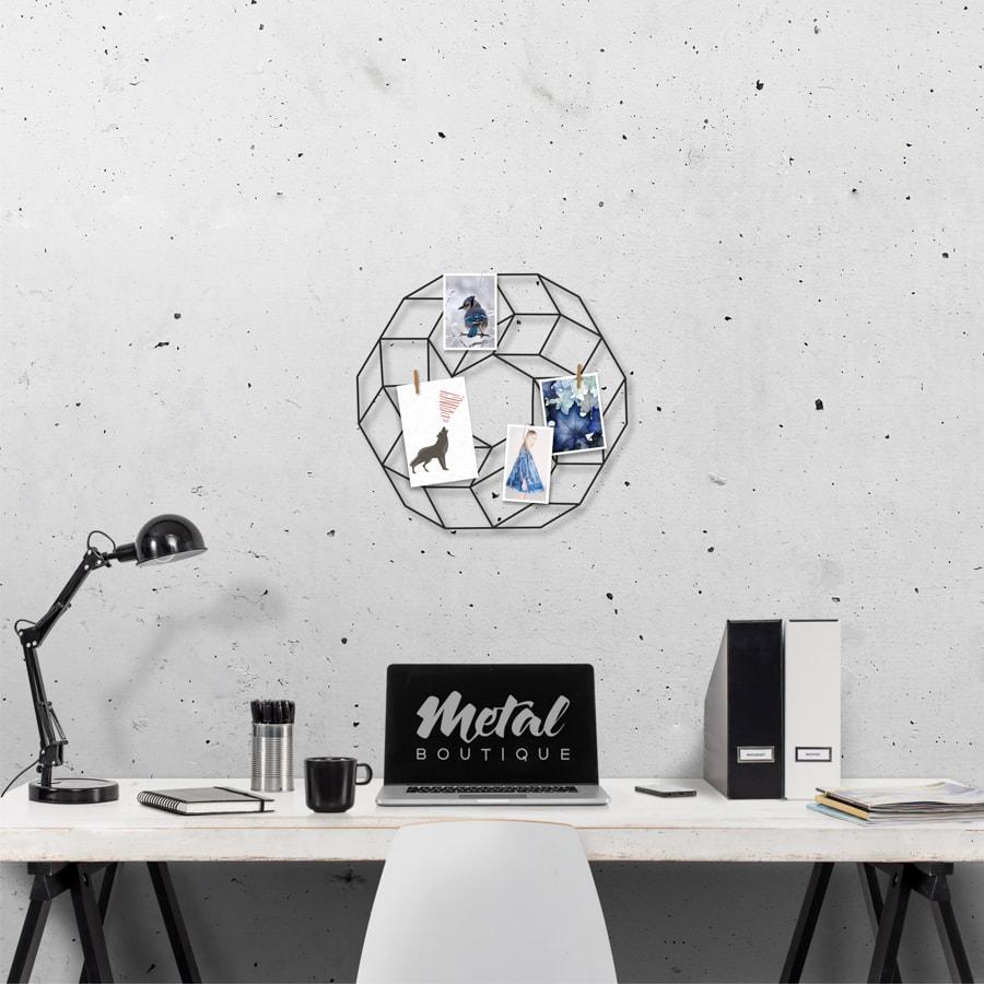 Мудборд Orbit: декор из металла на стену