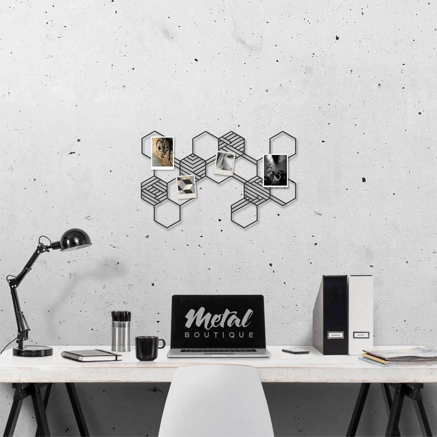 Мудборд Carbon: настенный органайзер из металла