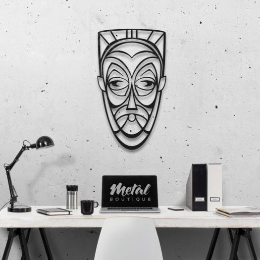 Этническая маска Juju: геометрическое панно на стену
