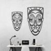 Этническая маска Juju: декоративное панно