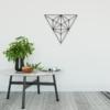 Треугольник: металлическая фигура на стену