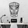 Этническая маска Lulz: металлическое панно на стену