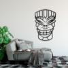 Этническая маска Lulz: декоративное панно из металла