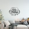 Надпись Merry Christmas: надпись из металла