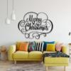 Надпись Merry Christmas: панно с надписью на стену