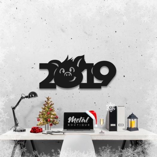 2019 год: геометрическое панно на стену